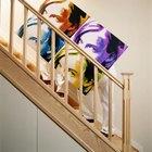A arte da parede adiciona autenticidade ao design da sua casa.