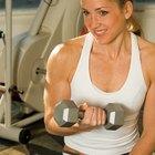 Esté delgado y tonificado con intervalos y entrenamiento con pesas.