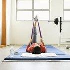 La elevación de la cadera se dirige a los glúteos, cuádriceps, caderas y abdominales.
