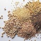 Una variedad de cereales integrales es una adición inteligente a la dieta.