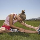 Cuida tus músculos después de correr.