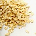 Los copos de avena y otros cereales con alto contenido de fibra son alimentos de IG bajo.