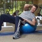 Stay balls puede aumentar la eficacia y la dificultad de cualquier ejercicio básico.