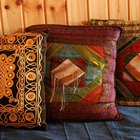 Pillows add color for little money.