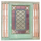 Use glass paint to create vintage-looking stained glass.
