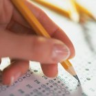 Multiple-choice exams test a student's knowledge quickly and objectively.