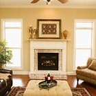 Place a living room ceiling fan in the center of the room.