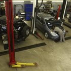 Auto repair is a popular type of service business.