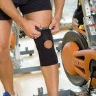 Using a brace while biking will help stabilize your knee throughout your workout.