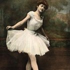 Framed vintage ballerina pictures make charming decorative accents.