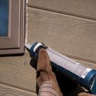 Caulking the window and the trim is essential to prevent water damage.