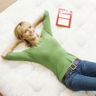 Lie on the mattress to see how it feels.