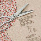 Use sharp scissors or pinking shears for clean edges.