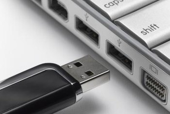 USB flash drives are one method compatible with Easy Transfer.
