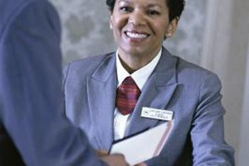 Hotel front-desk clerk salaries depend on their location within the country.