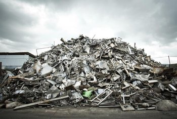A mountain of scrap can be converted into a pile of money.