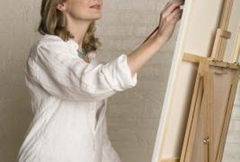A bachelor's degree in art teaches students about painting and other visual arts.