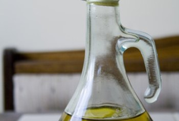 Olive oil is an example of a heart-healthy oil that you can use for salads or cooking.