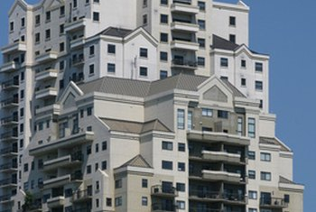 Condominiums have governing condominium associations.