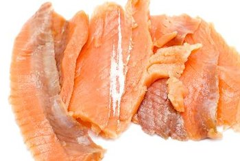 Salmon provides healthy fat, but does not contain essential dietary fiber.