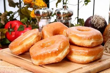 Glazed donuts are the symbol of Krispy Kreme.