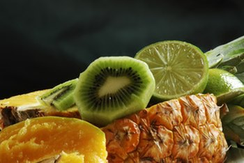 Kiwi and pineapple are both nutritious, but they differ in fiber, sugar and phytonutrient content.