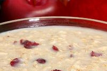 Add fruit and seeds to your bowl of oatmeal to boost the nutrient content.