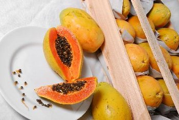 Ripe papayas are highly nutritious.
