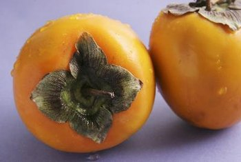 Persimmons are an antioxidant-rich snack.