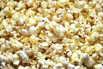Air-popped popcorn is a great snack that is low in sodium.