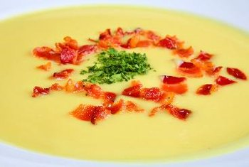 The nutritional value of cauliflower soup depends on the ingredients used.
