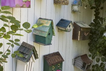 In most cases, ceramic is an excellent alternative material for birdhouses.