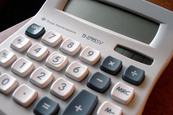 Calculate an estimated mortgage payment using a regular calculator.