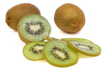 One serving of kiwifruit provides more than twice the daily requirement of vitamin C.
