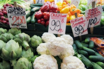 Buy fresh produce in season to spend less.