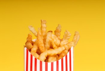 French fries are among the worst fast food choices.