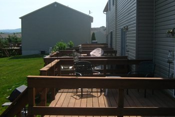 Adding a deck to your home can increase home value.