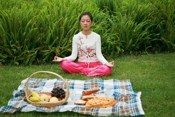 A vegetarian yogic lifestyle helps balance your mind and body.