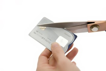 A portion of a business's debts can be kept on credit cards.