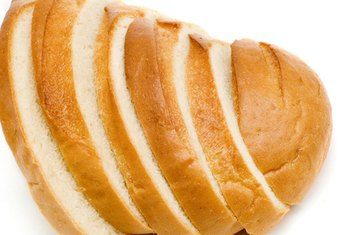 White bread, with its high GI, causes a rapid rise in blood sugar.