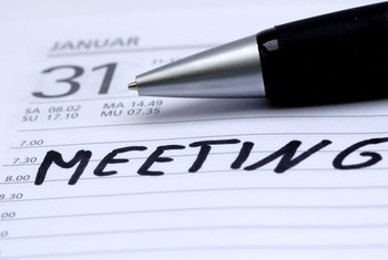 Good behavior at meetings contributes to success in business.
