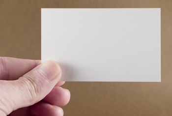 Business cards are a compact inexpensive small business advertising product.