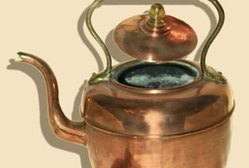 Copper is a popular material for kettles.