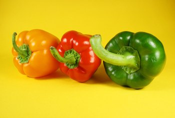 Peppers make a nutritious addition to any meal.