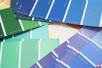 Paint color influences the percieved size of a space.