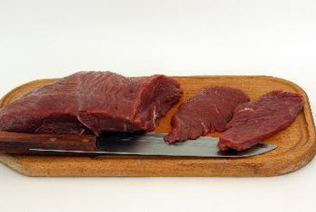 Thin-sliced sirloin cooks quickly.