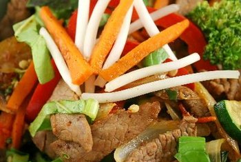 A lean beef stir-fry with brown rice can be a post-workout power meal.
