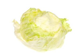 Iceberg lettuce is naturally low in sodium.