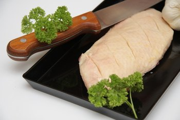 Choosing lean meat and poultry can help lower LDL.