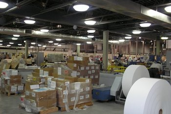 Standardized expectations for warehouse organization can help workers locate items more quickly.